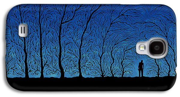 Alone In The Forrest Galaxy S4 Case by Gianfranco Weiss
