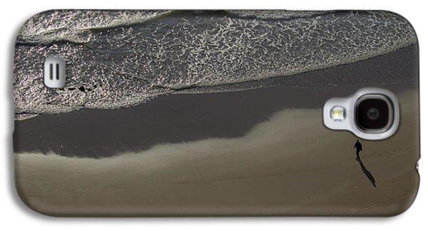 Beach Landscape Galaxy S4 Cases - Alone Galaxy S4 Case by Martin Newman