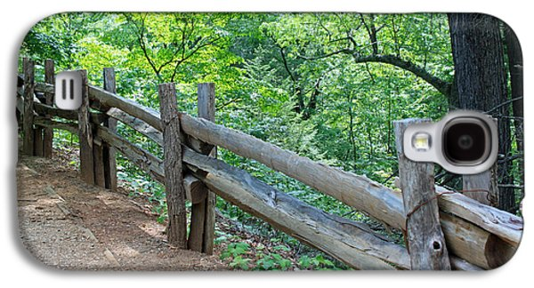 Split Rail Fence Galaxy S4 Cases - Along the Blue Ridge Parkway III Galaxy S4 Case by Suzanne Gaff
