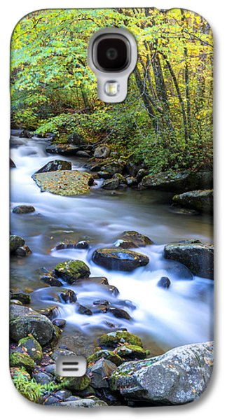 Background Photographs Galaxy S4 Cases - Along the Oconaluftee River Galaxy S4 Case by Andres Leon