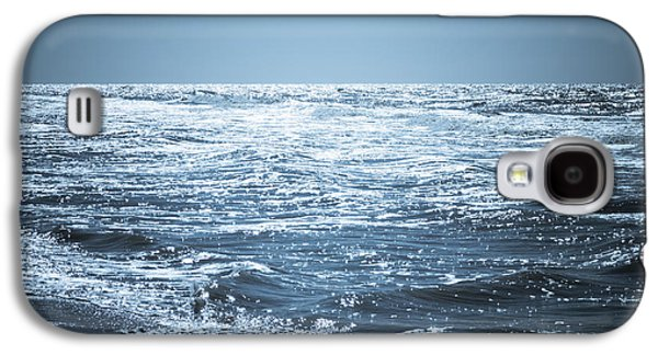Glitters Galaxy S4 Cases - Along The Shore Galaxy S4 Case by Wim Lanclus