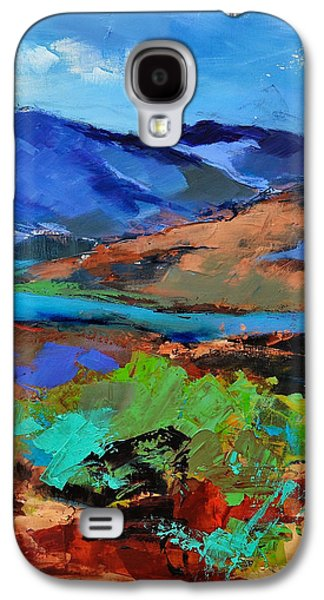 Usa Paintings Galaxy S4 Cases - Along The Trail - Arizona Galaxy S4 Case by Elise Palmigiani