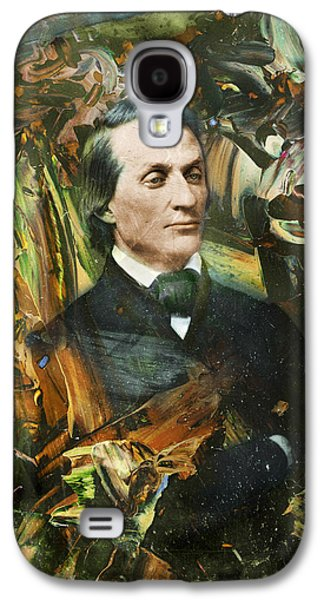 Historical Figures Galaxy S4 Cases - Aloof Fellow 1 Galaxy S4 Case by James W Johnson