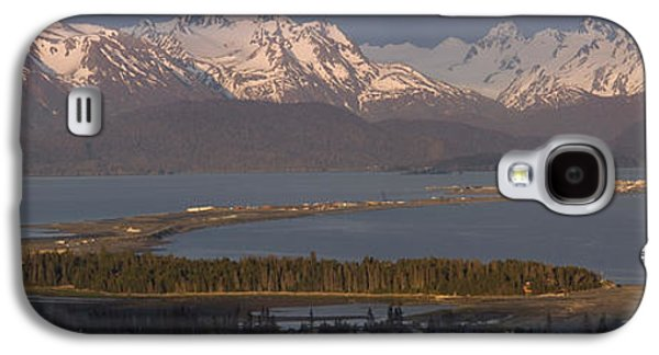 Spit Galaxy S4 Cases - Alpenglow Light On Homer Spit & Kenai Galaxy S4 Case by Scott Dickerson