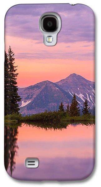 Landscape Acrylic Prints Galaxy S4 Cases - Alpine Sunrise Galaxy S4 Case by Darren  White