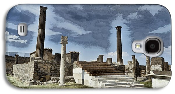 Colum Galaxy S4 Cases - Altar at Pompeii Galaxy S4 Case by Jon Berghoff