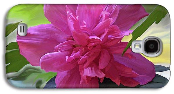 Althea Galaxy S4 Cases - Althea Hibiscus I Galaxy S4 Case by Patricia Griffin Brett