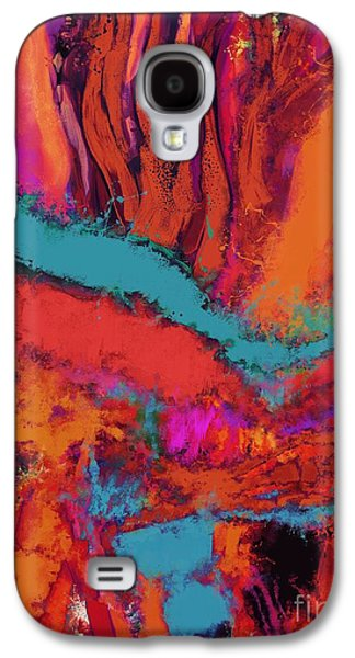Loose Style Digital Art Galaxy S4 Cases - Altitude Galaxy S4 Case by Keith Mills