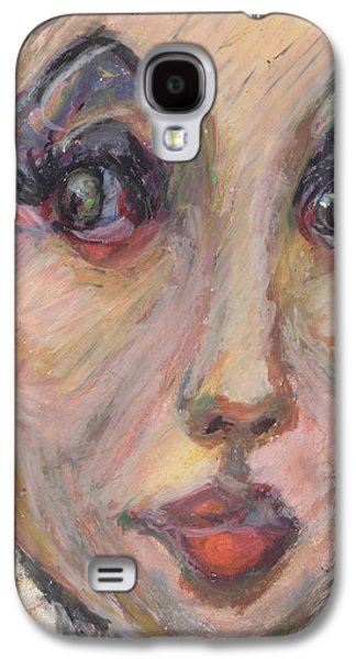 African-american Pastels Galaxy S4 Cases - Always beautiful to me... Galaxy S4 Case by Derrick Hayes