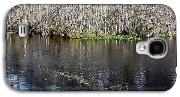 Landscapes Photographs Galaxy S4 Cases - Reflections - On The - Silver River Galaxy S4 Case by D Hackett