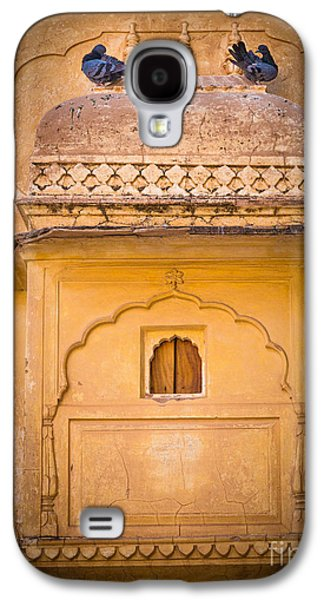 Amber Fort Birdhouse Galaxy S4 Case by Inge Johnsson