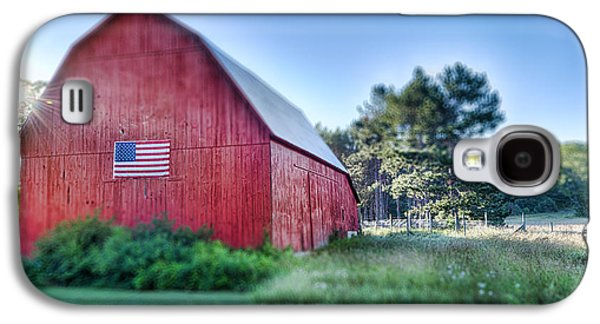 American Barn Galaxy S4 Case by Sebastian Musial