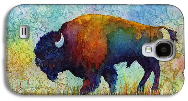 Recently Sold -  - Abstract Nature Galaxy S4 Cases - American Buffalo 5 Galaxy S4 Case by Hailey E Herrera