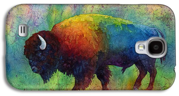 Bison Galaxy S4 Cases - American Buffalo 6 Galaxy S4 Case by Hailey E Herrera