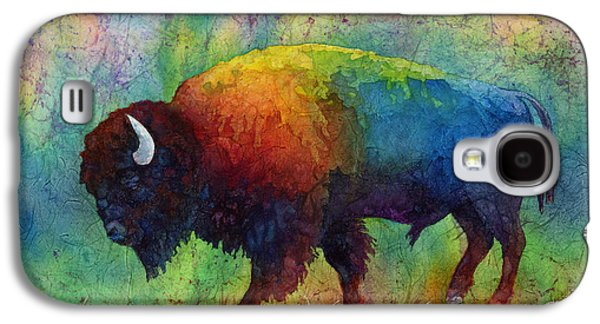 American Bison Galaxy S4 Cases - American Buffalo 6 Galaxy S4 Case by Hailey E Herrera