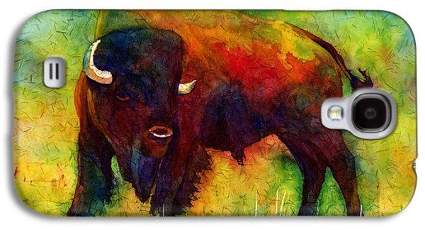 Bison Galaxy S4 Cases - American Buffalo Galaxy S4 Case by Hailey E Herrera