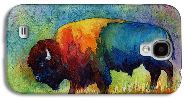 Best Sellers -  - Nature Abstracts Galaxy S4 Cases - American Buffalo III Galaxy S4 Case by Hailey E Herrera