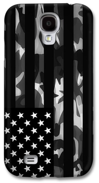Hunters Galaxy S4 Cases - American camouflage Case Galaxy S4 Case by Nicklas Gustafsson