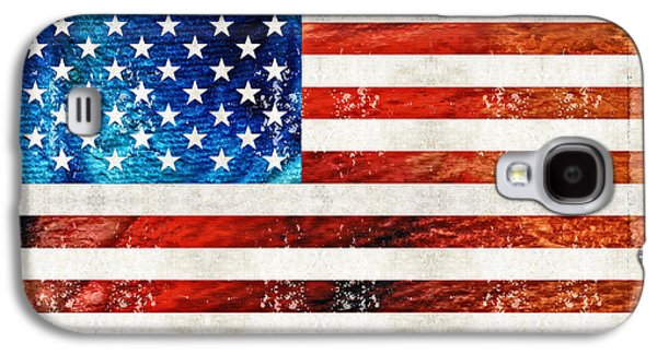 American Flag Art - Old Glory - By Sharon Cummings Galaxy S4 Case by Sharon Cummings