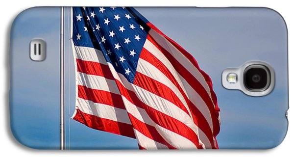 American Independance Photographs Galaxy S4 Cases - American Flag Galaxy S4 Case by Benjamin Reed