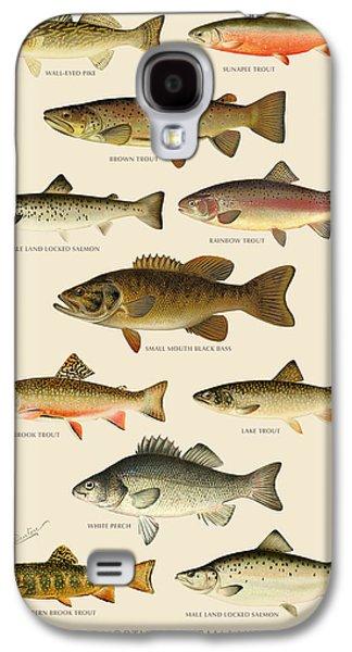 Animals Digital Galaxy S4 Cases - American Game Fish Galaxy S4 Case by Gary Grayson