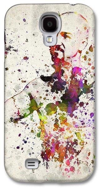 Celebrities Mixed Media Galaxy S4 Cases - American History X Galaxy S4 Case by Aged Pixel