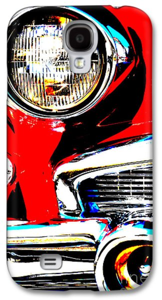 Shower Head Galaxy S4 Cases - rED AND SILVER American CAR - Art and Pillows Galaxy S4 Case by ArtyZen Studios - ArtyZen Home