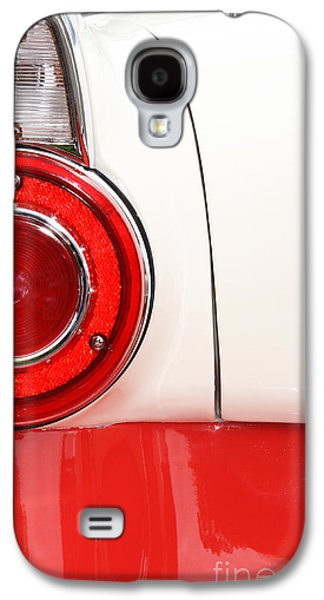 Shower Head Galaxy S4 Cases - Americana Tail Light - Vintage car in red and white Galaxy S4 Case by ArtyZen Studios - ArtyZen Home