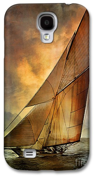 Abstractions Galaxy S4 Cases - Americas Cup  Galaxy S4 Case by Andrzej Szczerski