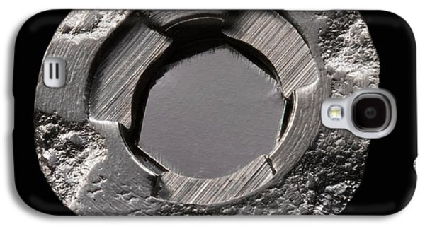 Americium In Smoke Detector Galaxy S4 Case by Science Photo Library
