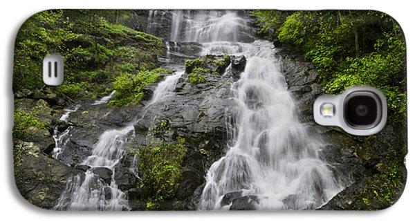 Landmarks Photographs Galaxy S4 Cases - Amicalola Falls Galaxy S4 Case by Debra and Dave Vanderlaan