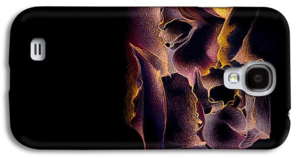 Trippy Drawings Galaxy S4 Cases - Amico fragile Galaxy S4 Case by Bodhi