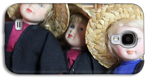 Amish Photographs Galaxy S4 Cases - Amish Dolls Galaxy S4 Case by Jewels Blake Hamrick