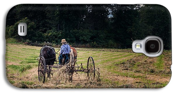 Amish Farming Galaxy S4 Case by Tom Mc Nemar