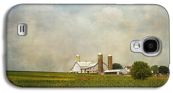 Kim Photographs Galaxy S4 Cases - Amish Farmland Galaxy S4 Case by Kim Hojnacki