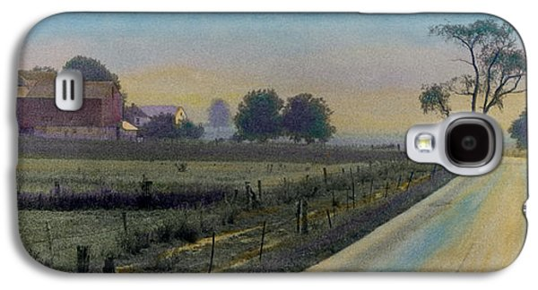 Amish Photographs Galaxy S4 Cases - Amish Way Galaxy S4 Case by Cindy McIntyre