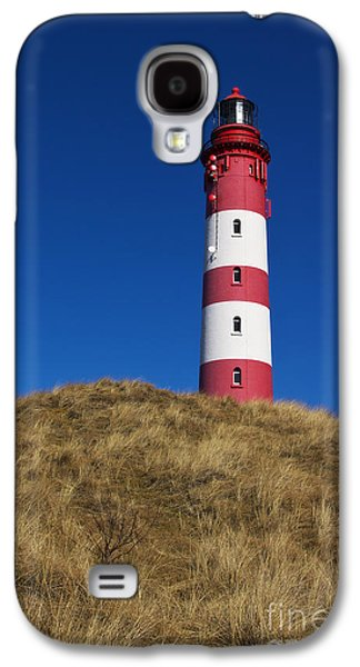Lighthouse Galaxy S4 Cases - Amrum Lighthouse Galaxy S4 Case by Angela Doelling AD DESIGN Photo and PhotoArt