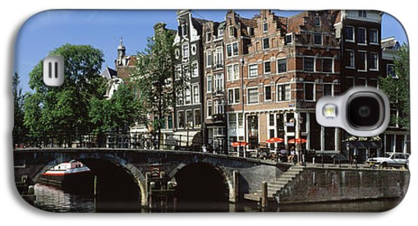 Historical Buildings Galaxy S4 Cases - Amsterdam, Holland, Netherlands Galaxy S4 Case by Panoramic Images