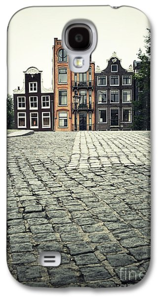 Famous Bridge Galaxy S4 Cases - Amsterdam street Galaxy S4 Case by Jane Rix