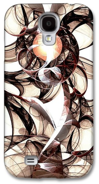 Digital Galaxy S4 Cases - Amulet of Chaos Galaxy S4 Case by Anastasiya Malakhova