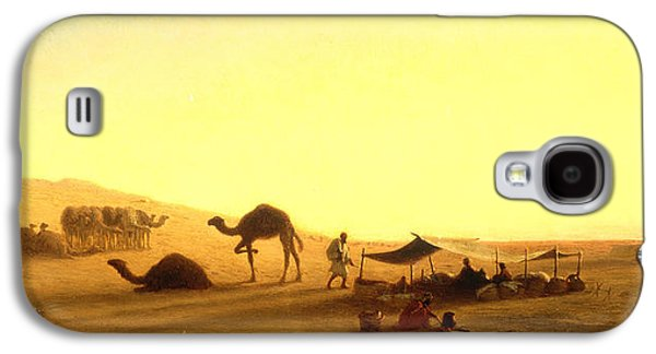 An Arab Encampment  Galaxy S4 Case by Charles Theodore Frere