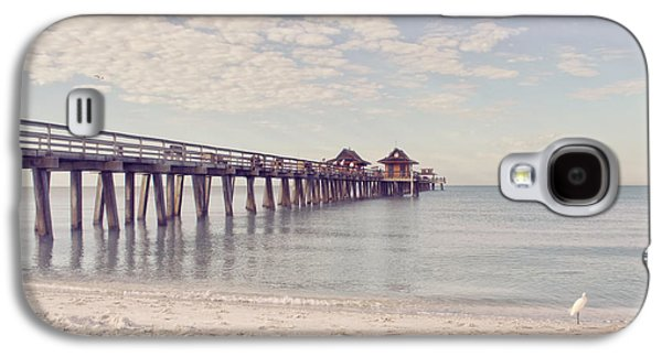 Kim Photographs Galaxy S4 Cases - An Early Morning - Naples Pier Galaxy S4 Case by Kim Hojnacki