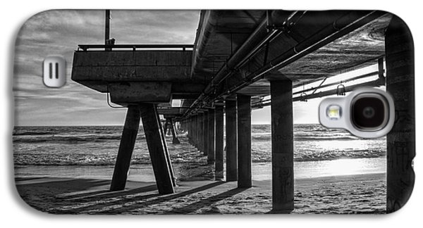 An Evening At Venice Beach Pier Galaxy S4 Case by Ana V Ramirez