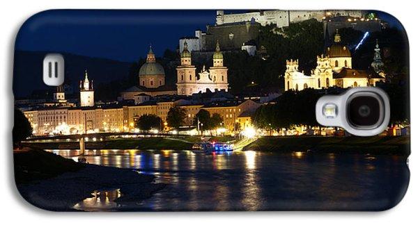 Salzburg Galaxy S4 Cases - An Evening in Salzburg Galaxy S4 Case by Mountain Dreams