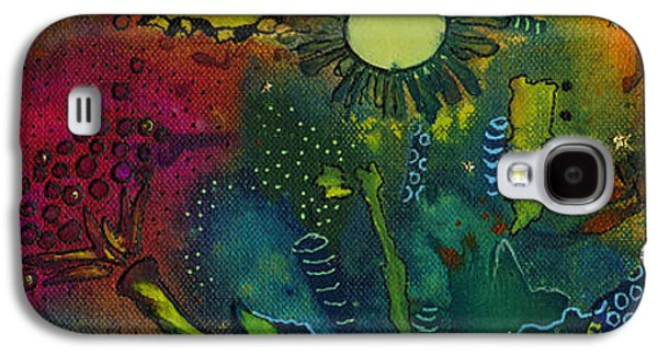 African-american Galaxy S4 Cases - An Evening in Spring Galaxy S4 Case by Angela L Walker