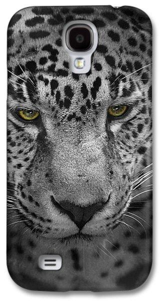 Original Photographs Galaxy S4 Cases - An Intense Stare - Wildlife - Leopard Galaxy S4 Case by Jai Johnson