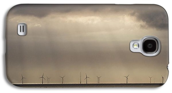 An Offshore Wind Farm In Dutch Waters Galaxy S4 Case by Ashley Cooper