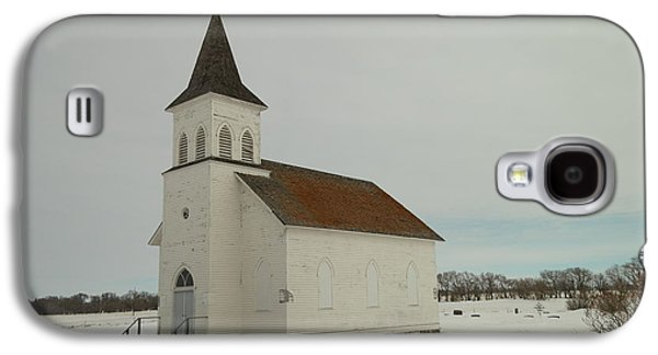 Old Relics Galaxy S4 Cases - An Old Church In North Dakota Galaxy S4 Case by Jeff  Swan