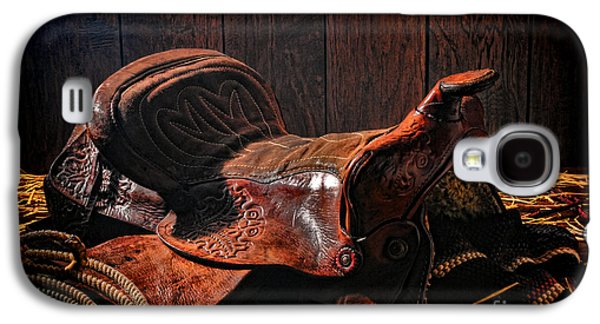 Saddle Galaxy S4 Cases - An Old Saddle Galaxy S4 Case by Olivier Le Queinec