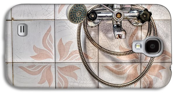 Shower Head Galaxy S4 Cases - An old shower Galaxy S4 Case by Sinisa Botas